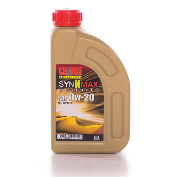 Syn n max sae 0w 20 0w 30 flor oil for Sae 0w 20 synthetic motor oil